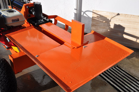 Log Splitter 30ton With Working Table Log Splitters